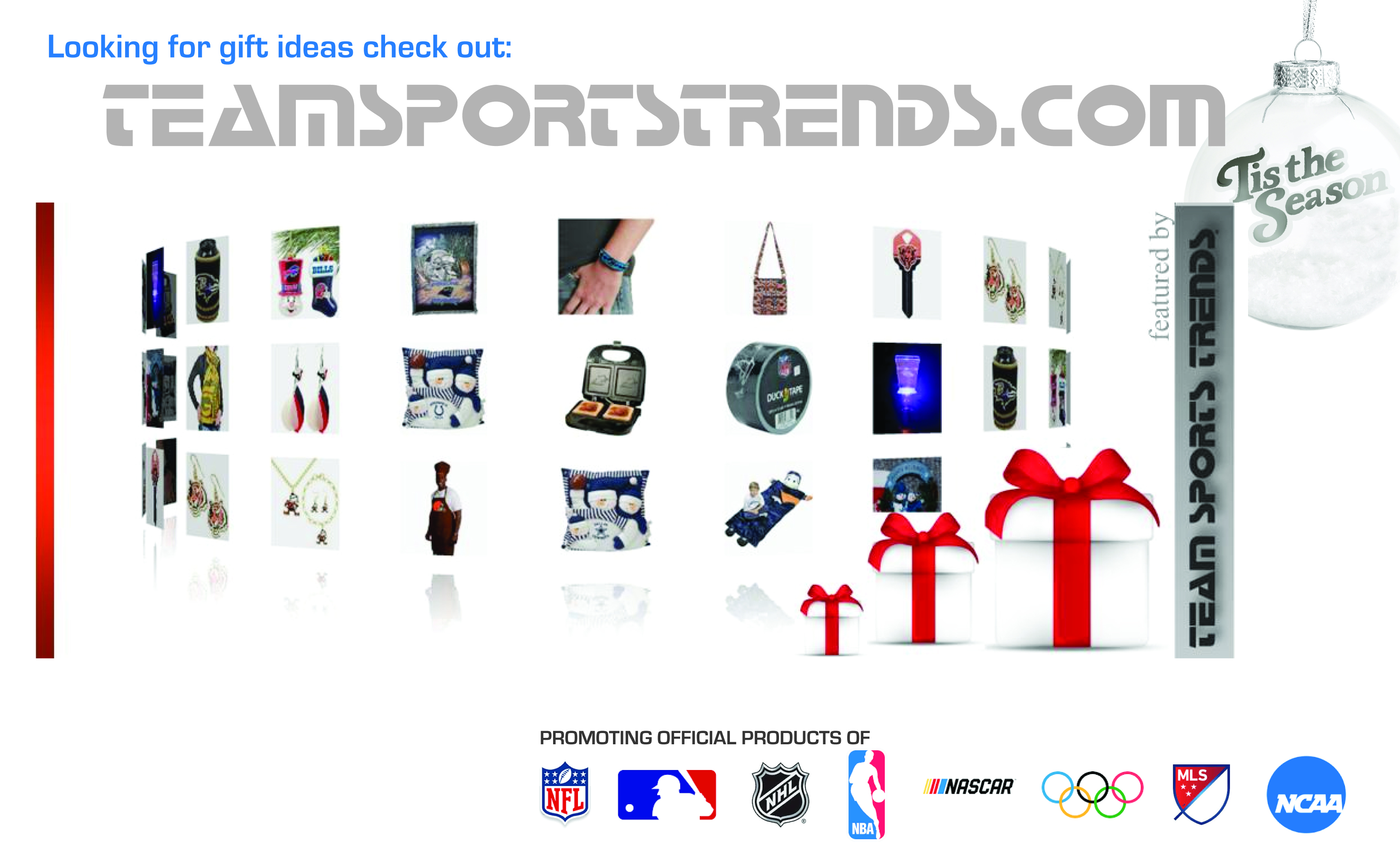 NFL Holiday Gift Shop